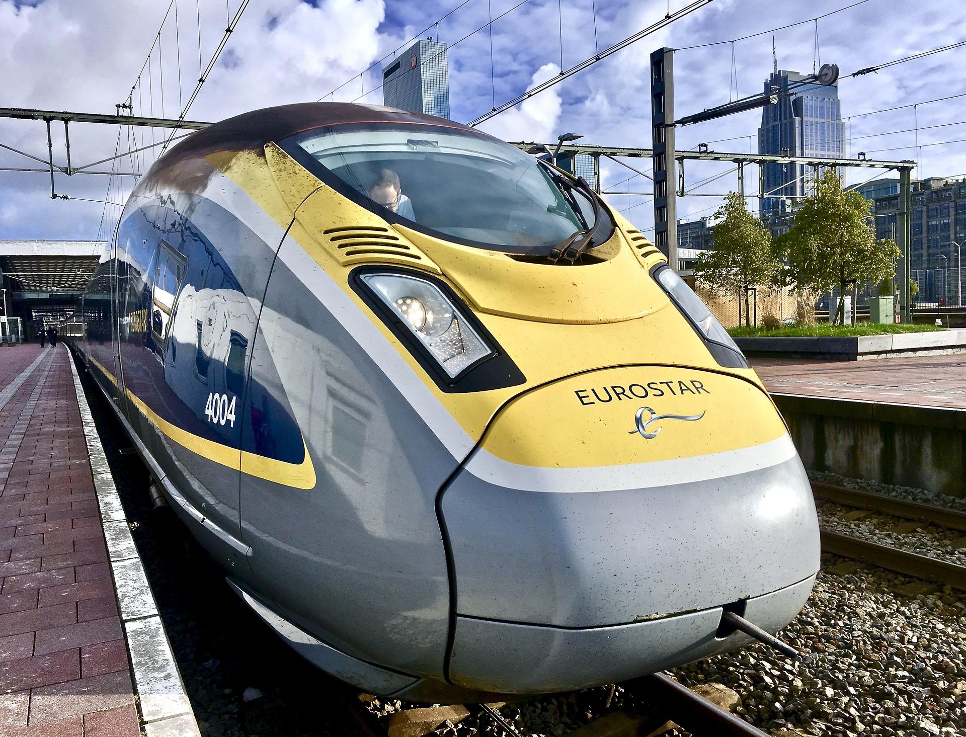 Beveiliging hogesnelheidstrein Eurostar on track
